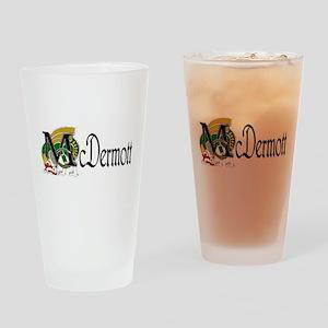 McDermott Celtic Dragon Drinking Glass