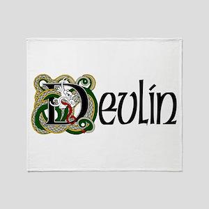 Devlin Celtic Dragon Throw Blanket