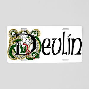 Devlin Celtic Dragon Aluminum License Plate
