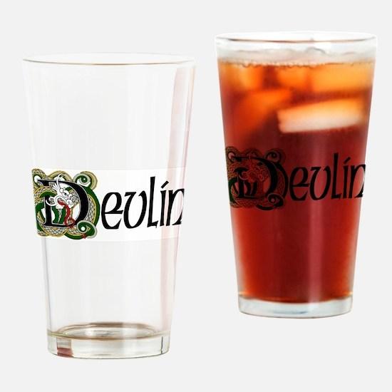 Devlin Celtic Dragon Drinking Glass