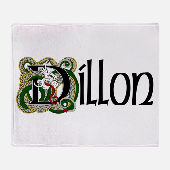 Dillon Celtic Dragon Throw Blanket