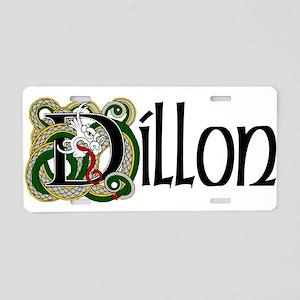 Dillon Celtic Dragon Aluminum License Plate