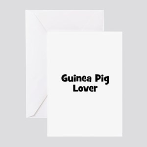 Guinea Pig Lover Greeting Cards (Pk of 10)
