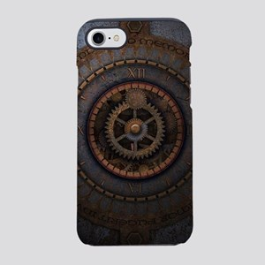 Steampunk Clock Time Metal Gea iPhone 7 Tough Case