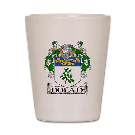 Dolan Coat of Arms Shot Glass