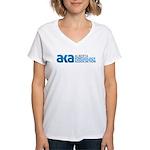 Alberta Kinesiology Women's V-Neck T-Shirt