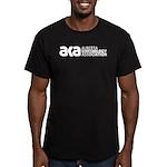Alberta Kinesiology Men's Fitted T-Shirt (dark)