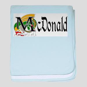 McDonald Celtic Dragon baby blanket