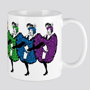 Rainbow CanCan Dancers Mug