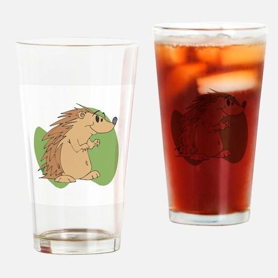 Cute Porcupine Pint Glass