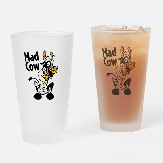 Mad Cow Pint Glass
