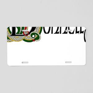 Donnelly Celtic Dragon Aluminum License Plate