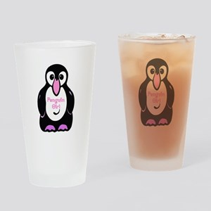 Penguin Girl Pint Glass