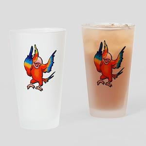 Flipping Bird Pint Glass