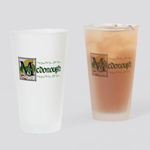 McDonough Celtic Dragon Pint Glass