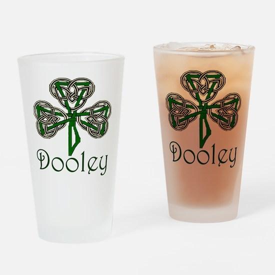 Dooley Shamrock Pint Glass