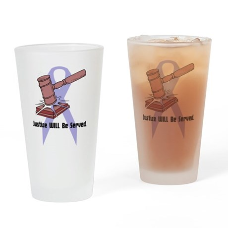 Domestic Violence Justice Pint Glass