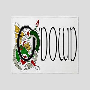 O'Dowd Celtic Dragon Throw Blanket