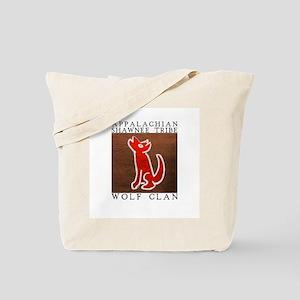 Wolf Clan Brown Tote Bag