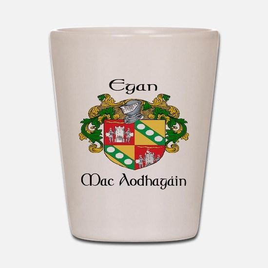 Egan in Irish & English Shot Glass
