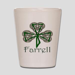 Farrell Shamrock Shot Glass