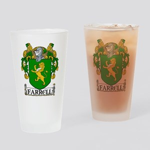 Farrell Coat of Arms Pint Glass
