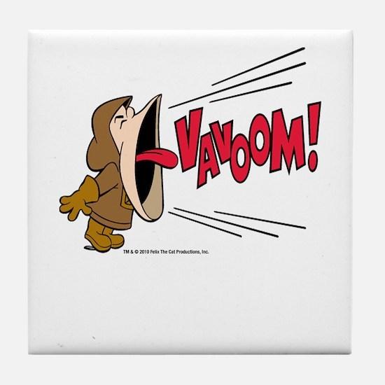 Vavoom! Yell Tile Coaster