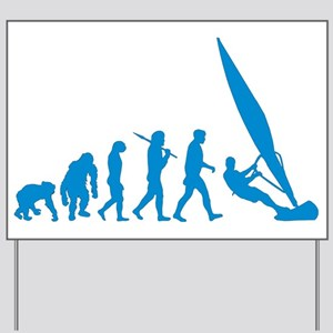 Evolution of Windsurfing Yard Sign