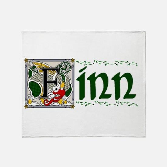 Finn Celtic Dragon Throw Blanket
