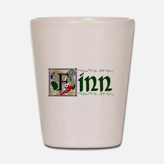 Finn Celtic Dragon Shot Glass