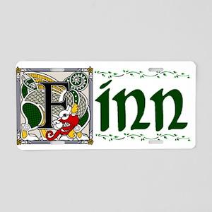 Finn Celtic Dragon Aluminum License Plate