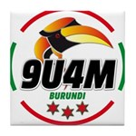 9u4m Logo Tile Coaster