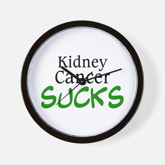 Kidney Cancer Sucks Wall Clock