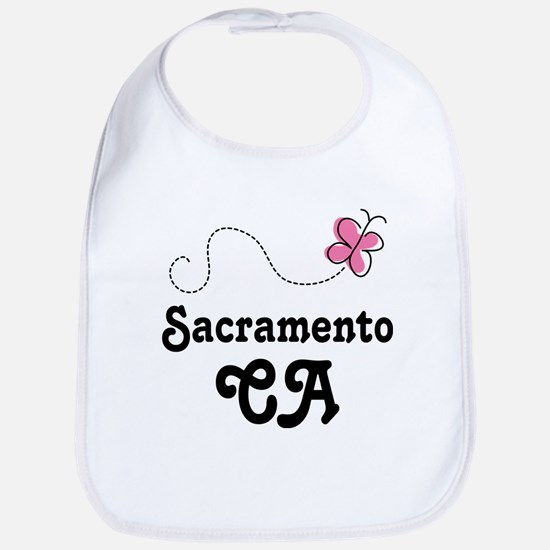 Pretty Sacramento California Bib
