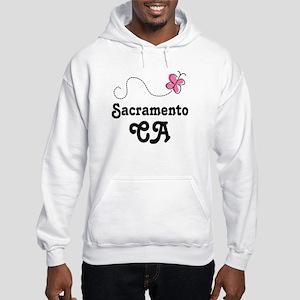 Pretty Sacramento California Hooded Sweatshirt