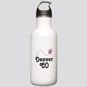 Pretty Denver Colorado Stainless Water Bottle 1.0L