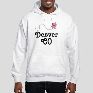 Pretty Denver Colorado Hooded Sweatshirt