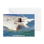USS DALLAS Greeting Card