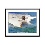 USS DALLAS Framed Panel Print