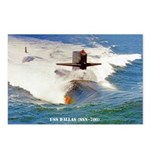USS DALLAS Postcards (Package of 8)