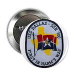 """USS DALLAS 2.25"""" Button"""