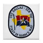 USS DALLAS Tile Coaster