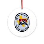 USS DALLAS Ornament (Round)