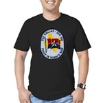 USS DALLAS Men's Fitted T-Shirt (dark)