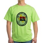 USS DALLAS Green T-Shirt