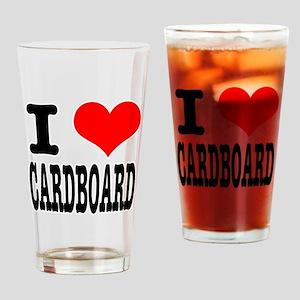 I Heart (Love) Cardboard Pint Glass