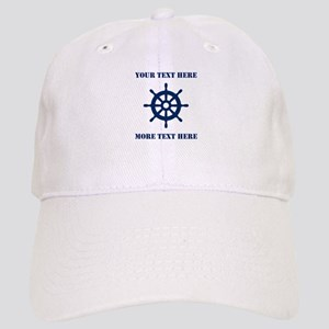 Custom Boat Captain Hat | Nautical Baseball Cap