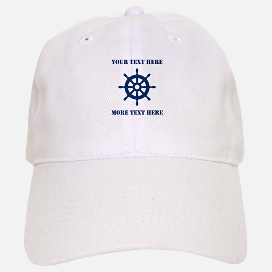 Custom Boat Captain Hat | Nautical Baseball Baseball Baseball Cap
