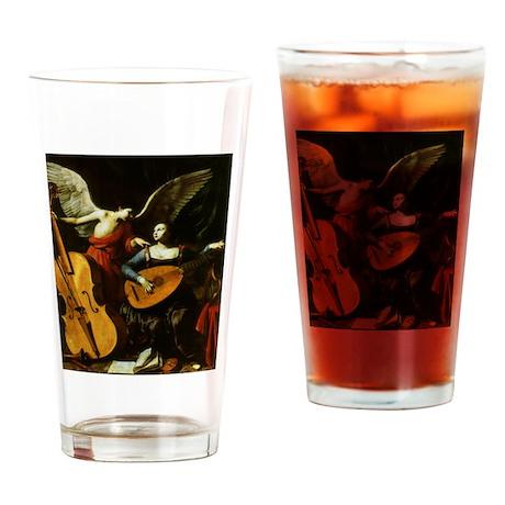 Saint Cecilia and Angel, Saraceni Drinking Glass