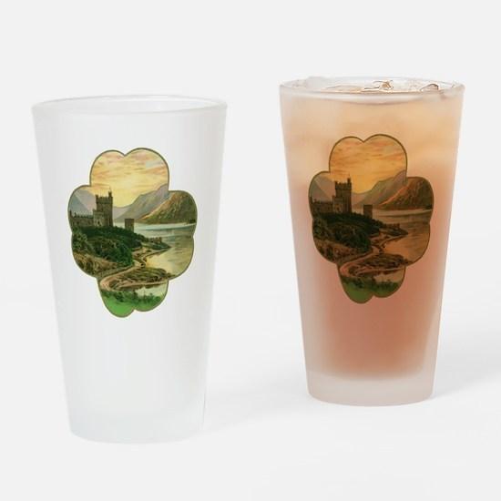 Vintage Saint Patrick's Day Drinking Glass